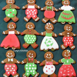 Gingerbread Men (and Women) Cookies Cedar Rapids Iowa