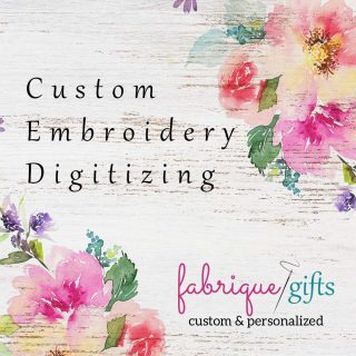 Custom Embroidery Digitizing – Logos & Quilt Labels