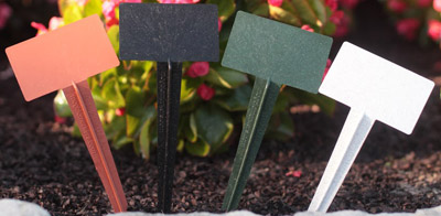 "13"" Angled Top BioMarkers Plant Label Garden Stake Tags"