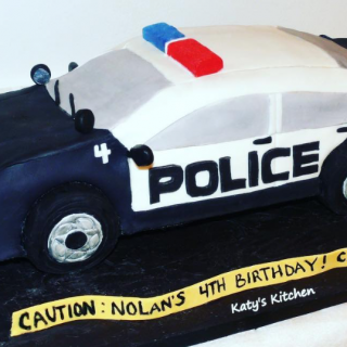 Police Car Birthday Cake Cedar Rapids Iowa