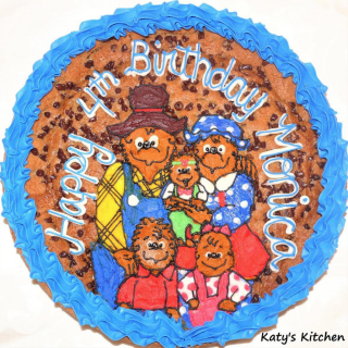 Cookie Cakes in Cedar Rapids Iowa Berenstain Bears Cake