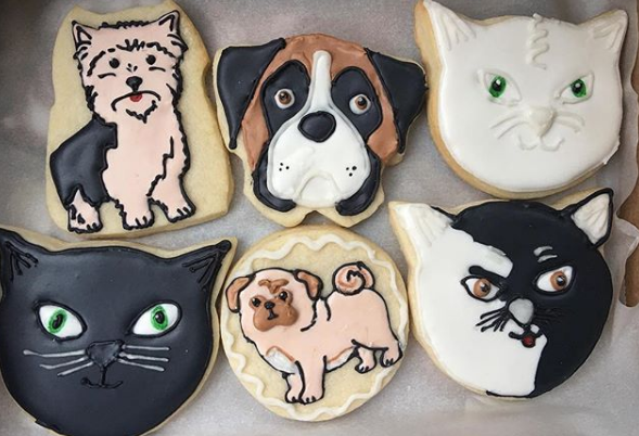 Dog and Cat Cookies in Cedar Rapids