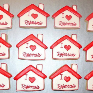 Realtor & Housewarming Cookies in Cedar Rapids