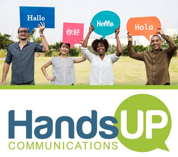 Hands Up Communications OnSite Interpreting Services in Cedar Rapids and Eastern Iowa