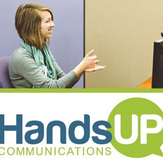 Hands Up Communications Remote Video Interpreting in Iowa and United States