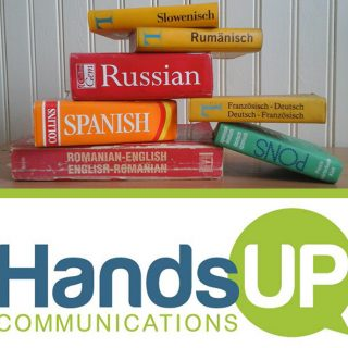 Written Translation Services in Cedar Rapids Iowa by Hands Up Communications