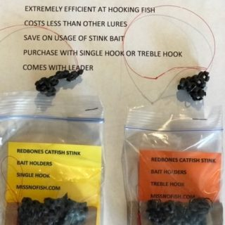 Catfish Stink Bait Holders that Really Work by Miss No Fish