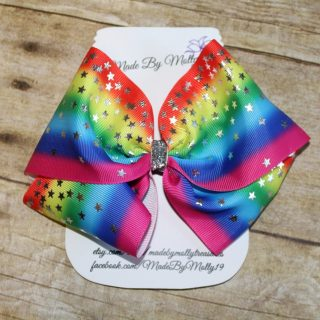 Rainbow Boutique Hair Bow