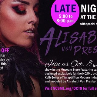 Late Night featuring Alisabeth Von Presley Oct 8 Late Night
