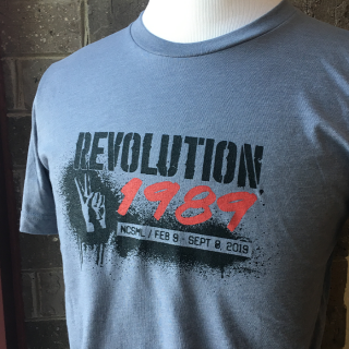 Revolution 1989 T-Shirt Cedar Rapids National Czech & Slovak Museum