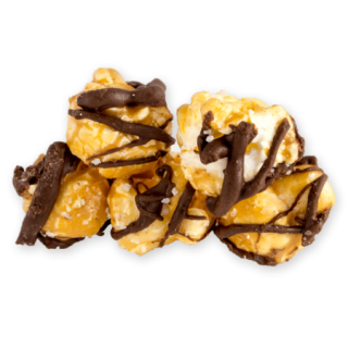 Salted Caramel Drizzle Almost Famous Gourmet Popcorn Company
