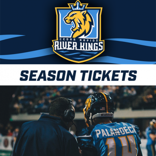 Season Tickets to Cedar Rapids River Kings Football