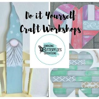 Chasing Butterflies Creations Craft Workshop in Marion/Cedar Rapids Iowa