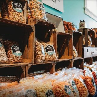 Popcorn Bar & Party Favors