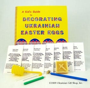 Kids Egg Decorating Kit